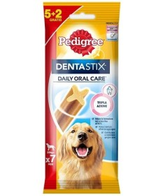 Pedigree Dentastix 5+2 Daily Oral Care per Cani Large (+25 kg) da 270 gr
