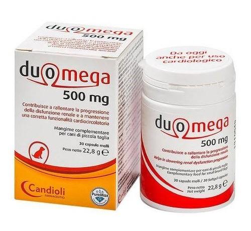 Candioli Duomega 500 mg 30 Capsule per Cani Piccoli da 23 gr