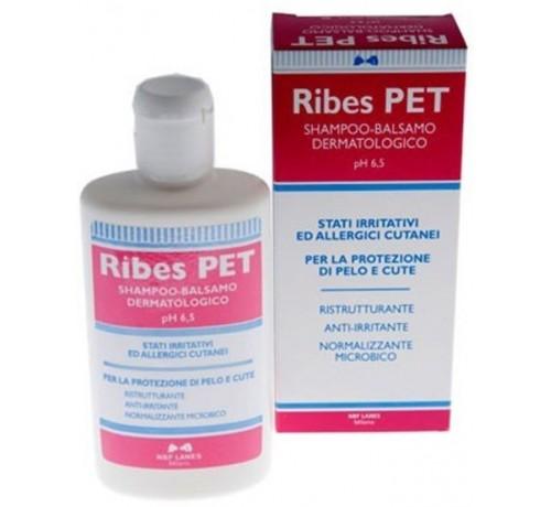 Nbf Lanes Ribes Pet Shampoo e Balsamo Dermatologico per Cani e Gatti da 200 ml