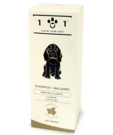Linea 101 Shampoo + Balsamo per Pelo Corto per Cani e Gatti da 250 ml