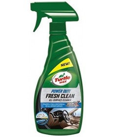 Turtle Wax PowerOut Fresh Clean Pulitore per Interni Auto da 500 ml