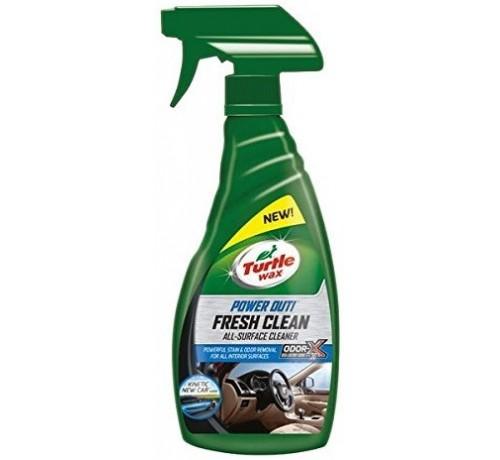 Turtle Wax PowerOut Fresh Clean Pulitore per Interni Auto da 500 ml