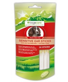 Bogacare Sensitive Ear Stick per Cani da 30 pz