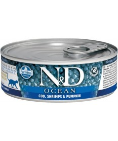 Farmina N&D Cat Ocean per Gatti da 80 gr