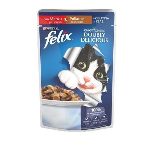 Purina Felix Le Ghiottonerie Doubly Delicious 100 gr