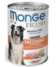 monge Fresh Senior con Tacchino e Ortaggi per Cani da 400 gr