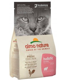 Almo Nature Holistic per Gatto Kitten con Pollo e Riso