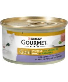 Gourmet Gold Mousse per Gatto con Verdure da 85 gr