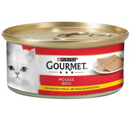 Gourmet Red Mousse 195gr