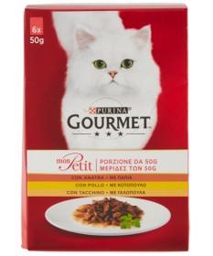 Gourmet Monpetit Multipack per Gatto da 6x50gr