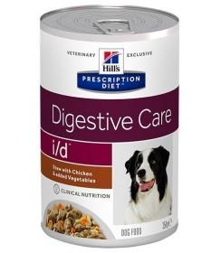 Hill's Prescription Diet Canine I/D Digestive Care Spezzatino con Pollo e Verdure per Cani da 354 gr