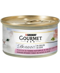 Gourmet Diamant Fiocchi di Tonno in raffinata Gelée con Orata 85gr