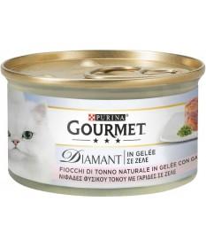Gourmet Diamant Fiocchi di Tonno in gelatina con Gamberetti 85gr