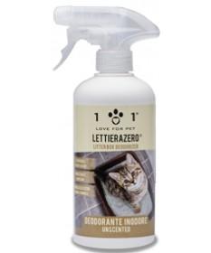 Linea 101 Lettiera Zero Deodorante Inodore per Gatti da 500 ml