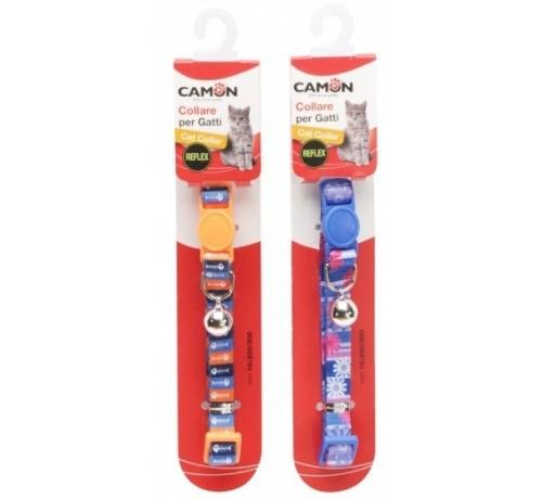 Camon Collare Reflex in Nylon con Scritta da 10 mm per Gatti
