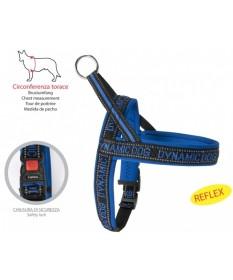 Camon Dynamic Dog Pettorina Blu per Cani da 60 cm