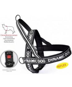 Camon Dynamic Dog Pettorina Nera per Cani da 45 cm