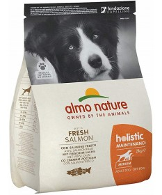 Almo Nature Holistic per Cane Adult Medium con Salmone e Riso da 2 Kg