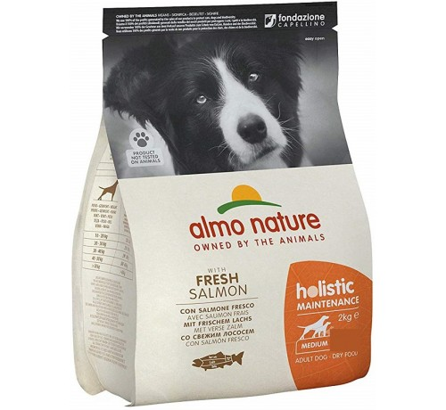 Almo Nature Cane Holistic Adult Medium con Salmone e Riso 2 Kg