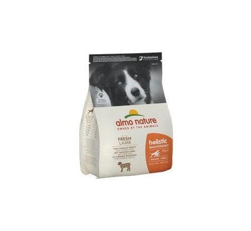 Almo Nature Cane Holistic Adult Medium con Agnello e Riso 2 Kg