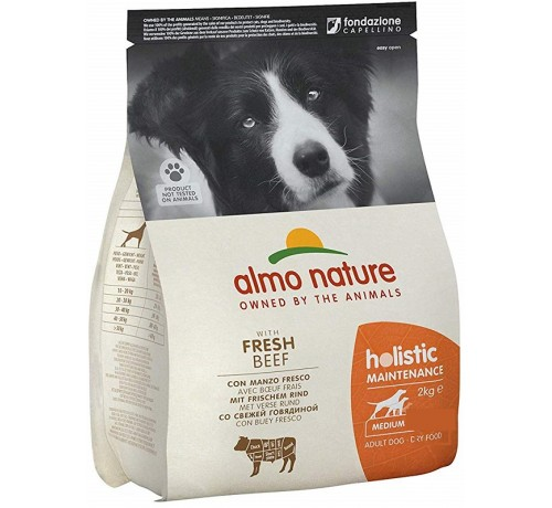 Almo Nature Cane Holistic Adult Medium con Manzo e Riso 2 Kg