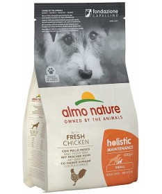 Almo Nature Cane Holistic Small Adult con Pollo e Riso