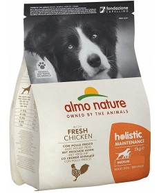 Almo Nature Cane Holistic Adult Medium con Pollo e Riso 2 Kg
