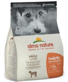 Almo Nature Holistic Cane Adult Small con Agnello e Riso 2 Kg
