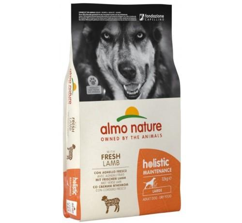 Almo Nature Holistic Maintenance Cane Adult L con Agnello e Riso da 12 Kg