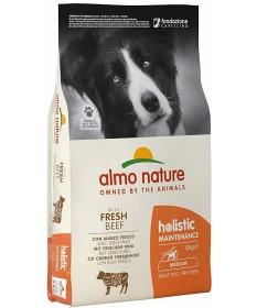 Almo Nature Holistic Maintenance Cane Adult M con Manzo e Riso da 12 Kg