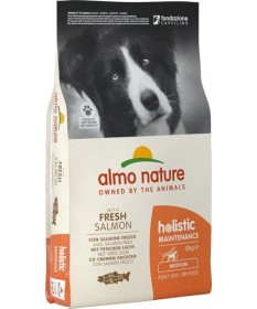 Almo Nature Holistic Medium Adult con Salmone da 12 Kg