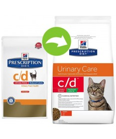 Hill's Prescription Diet c/d Urinary Care Reduced Calorie per Gatto