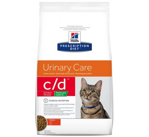 Hill's Prescription Diet Gatto secco c/d Urinary Reduced Calorie