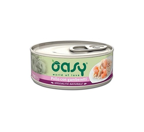 Oasy Natural Gatto Umido 150 gr