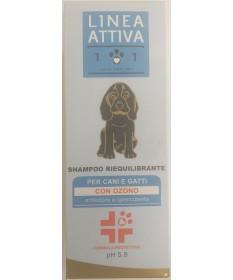 Linea 101 Shampoo Riequilibrante con Ozono per Cani e Gatti da 250 ml
