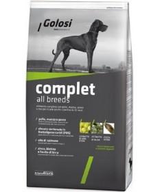 Golosi Dog Complet All Breeds con Pollo, Manzo e Pesce per Cani da 3 kg