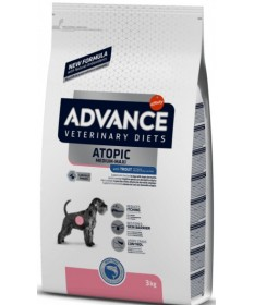 Advance Veterinary Diets Atopic Medium-Maxi con Trota per Cani da 3 kg