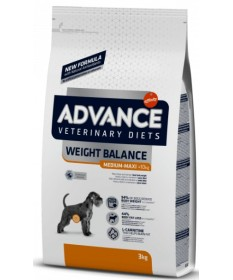 Advance Veterinary Diets Weight Balance Affinity Medium/Maxi per Cani da 3 kg