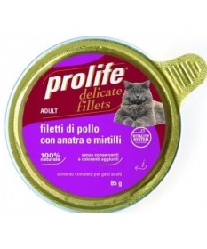 Prolife Adult Cat Filetti per Gatti da 85 gr
