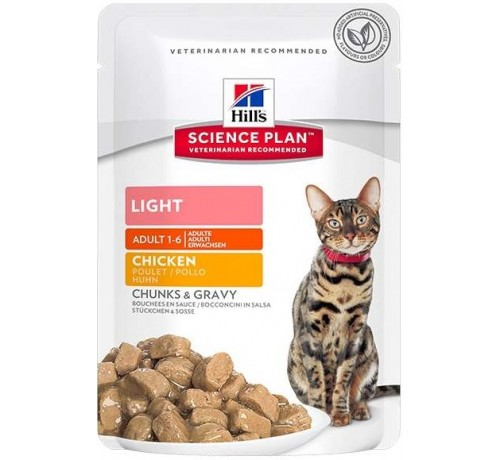 Hill's Science Plan Gatto umido Light Adult