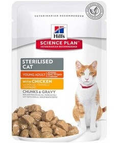 Hill's Science Plan per Gatto Young Adult Sterilised da 85g