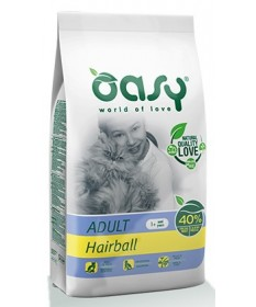 Oasy Hairball per Gatto Adult