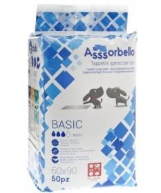 Ferribiella Asssorbello Basic 60x90 Tappetini igienici per Cani da 50 pz