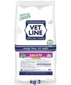 VetLine Special Food Salute con Pesce Tg. Piccola per Cani