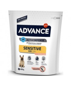 Advance Affinity Sensitive Mini con Salmone e Riso per Cani da 800 gr