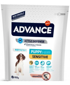 Advance Affinity Active Defense Puppy Sensitive con Salmone e Riso per Cani da 800 gr
