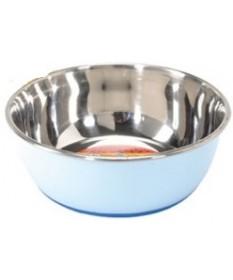 Camon Selecta Ciotola in Acciaio Colorato per Cani da 3650 ml