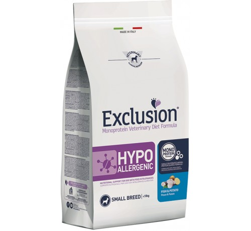 Exclusion Diet Hypoallergenic cane Small Breed conf. da 2 Kg