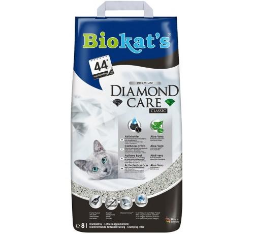 Biokat's Diamond Care Classic con Carbone Attivo e Aloe Vera per Gatti da 8 lt