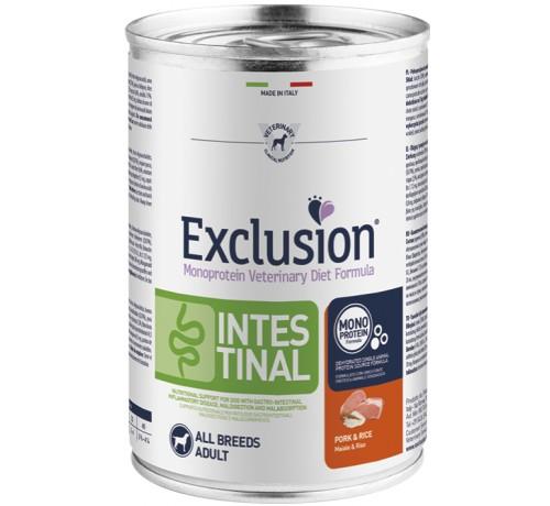 Exclusion Diet Intestinal cane umido con Maiale e Riso